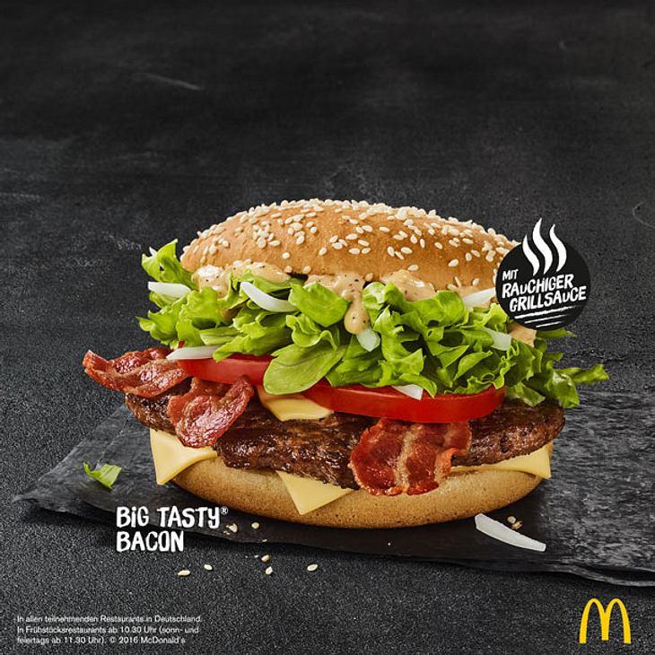 McDonald's: Big Tasty Bacon kommt dauerhaft ins Sortiment