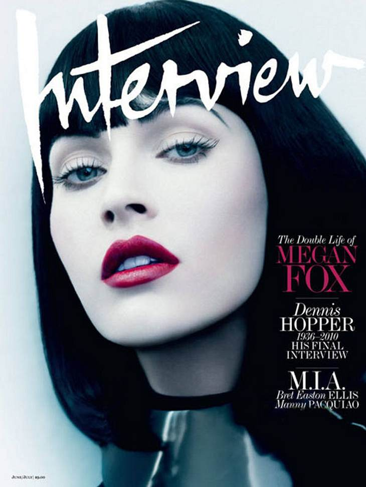 "undefined Megan Fox: Fotoshooting für die ""Interview"""