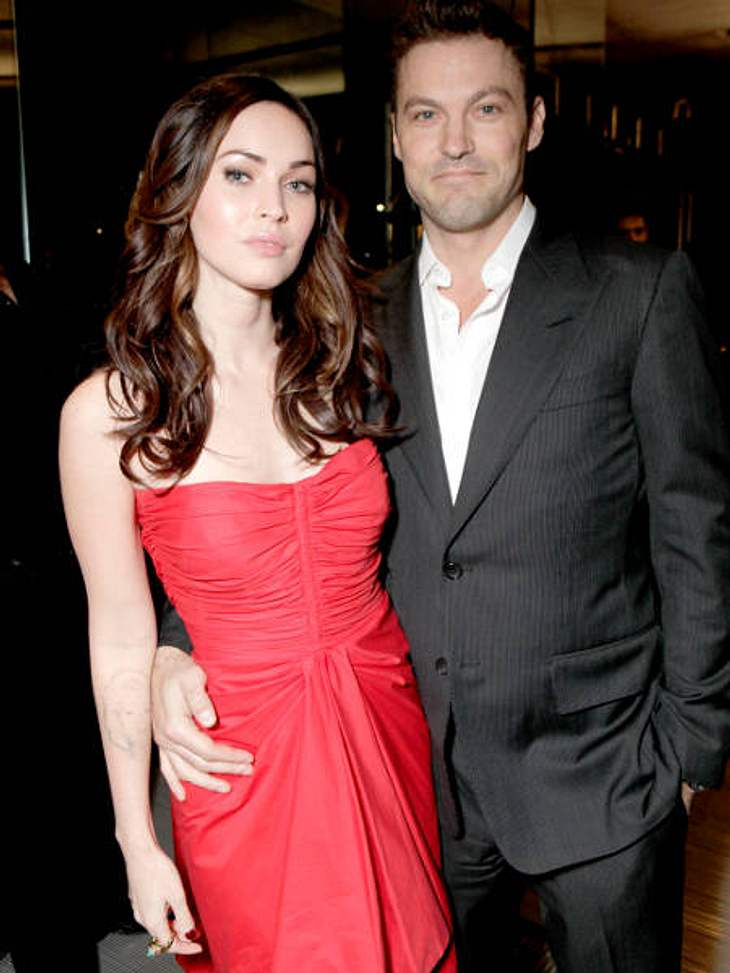 Berühmte Paare und ihre On-Off-LiebeIhr Weg zum Liebesglück war steinig: Megan Fox (25) und Austin Green (38) lernten sich bereits 2004 kennen. Zwei Jahre später folgte die Verlobung, Anfang 2009 dann die Trennung. Mittlerweile sind die bei