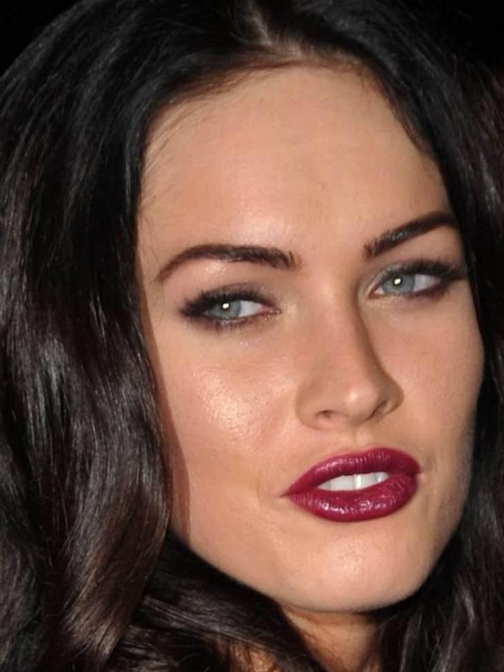 Sexy: Auch Megan Fox legt gerne mal Brombeere auf.