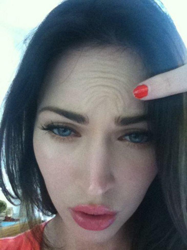 """""""Kann das jemand der Botox gespritzt hat?"""", fragt Megan Fox auf ihrer Facebook-Seite. Wir finden, das sieht auf jeden Fall auch nicht so aus, als hätte sie kein Botox gespritzt. Vielleicht ist das ja auch nur das Ergebnis zwischen"""