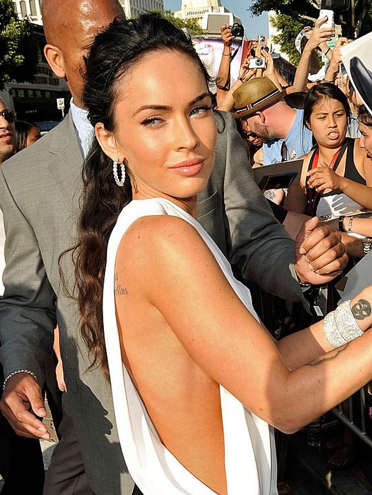 """Doppelgänger: Die doppelten VIP-Lottchen""""Tranformers""""-Star Megan Fox steht gerne im Mittelpunkt."""