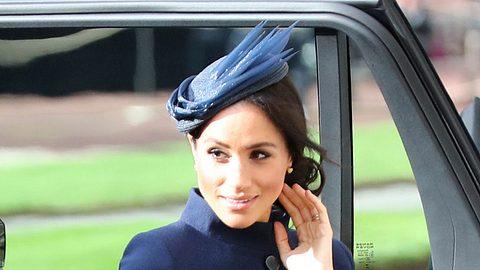 Herzogin Meghan: Enthüllt! Versteckt sie so etwa ihren Baby-Bauch? - Foto: Getty Images