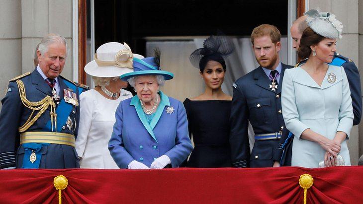 Herzogin Meghan: Sie treibt einen Keil zwischen Charles und William!