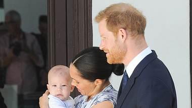 Meghan und Harry mit Baby Archie - Foto: imago