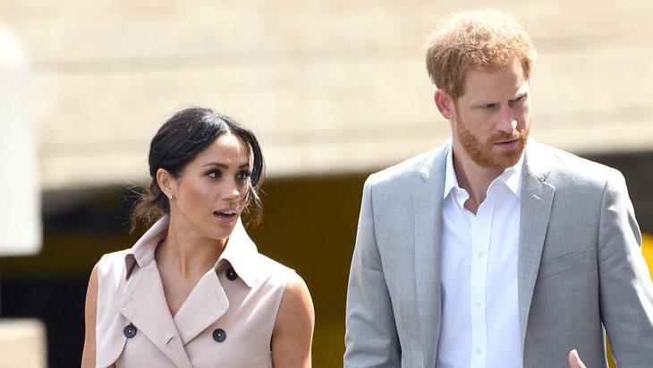 Prinz Harry & Herzogin Meghan: Ihr Baby-Glück ist bedroht!