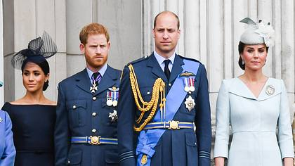 Meghan, Harry, Kate und William - Foto: Getty Images