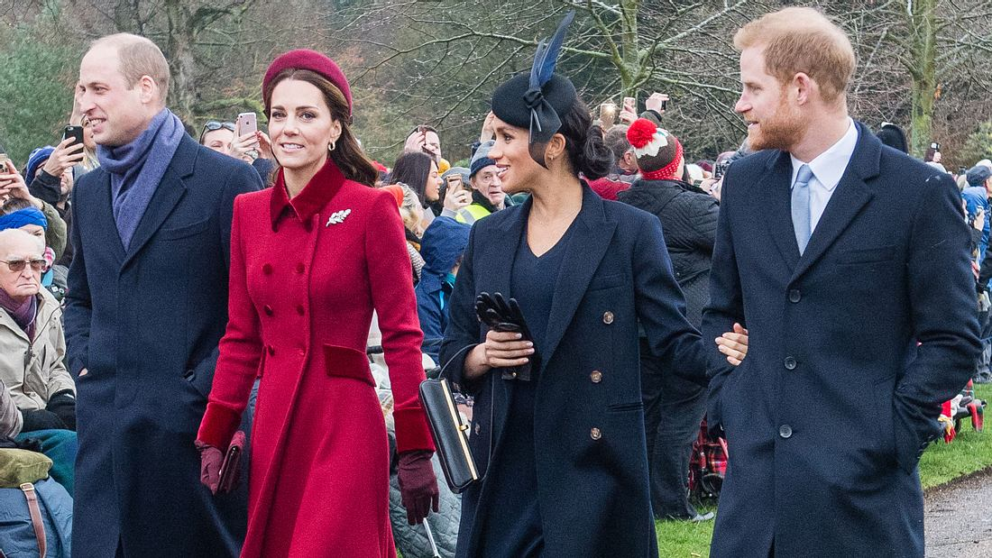 Meghan,Harry, William und Kate