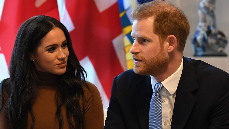 Herzogin Meghan & Prinz Harry: Jetzt bricht ihr Leben über ihnen zusammen!