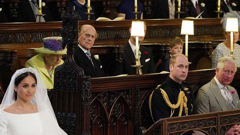 Trauriger Grund? Darum blieb der Platz neben Prinz William bei der Hochzeit frei