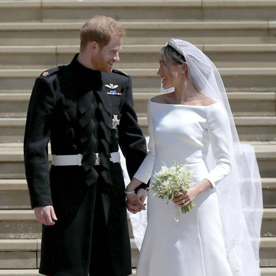 So habt ihr die Hochzeit von Prinz Harry und Meghan Markle noch nicht gesehen