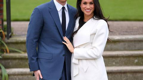 Meghan Markle und Prinz Harry gibt es jetzt auch aus Wachs - Foto: GettyImages