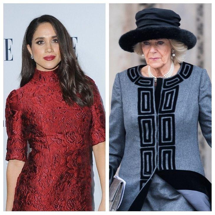 Herzogin Camilla: Fiese Intrigen gegen Meghan Markle!