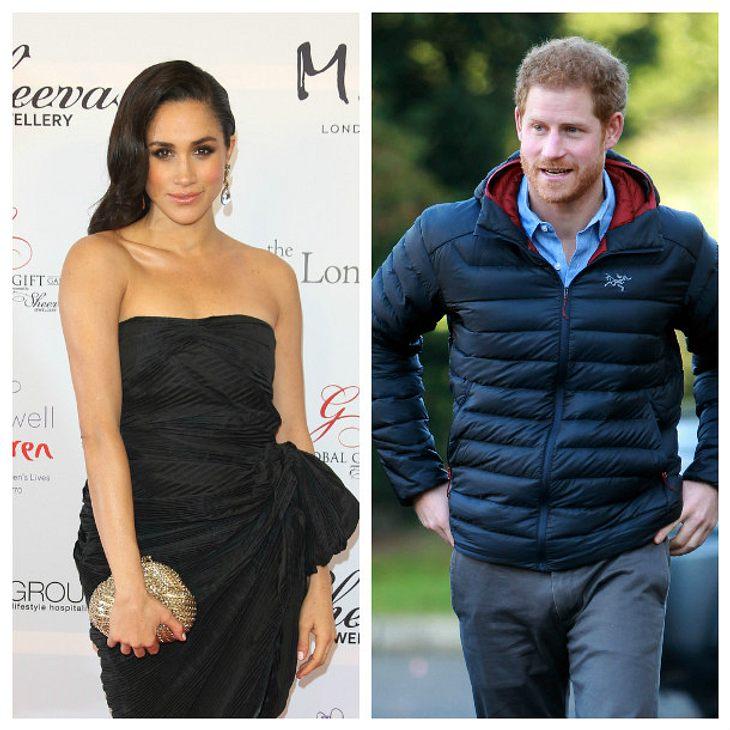 Prinz Harry und Meghan Markle zeigen sich der Öffentlichkeit