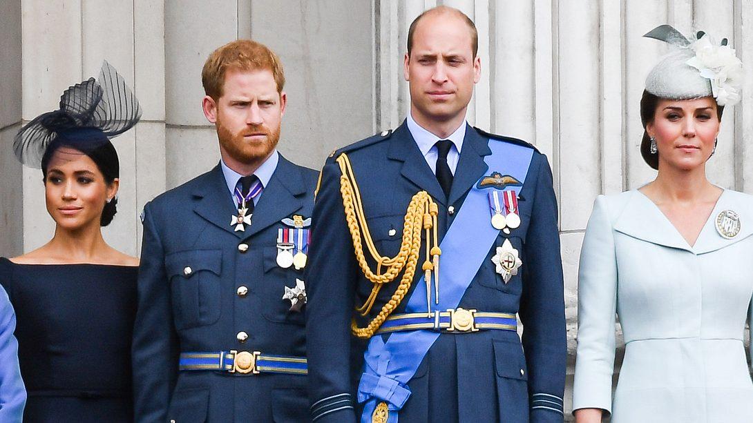 Herzogin Meghan, Prinz Harry, Prinz William, Herzogin Kate - Foto: Getty Images