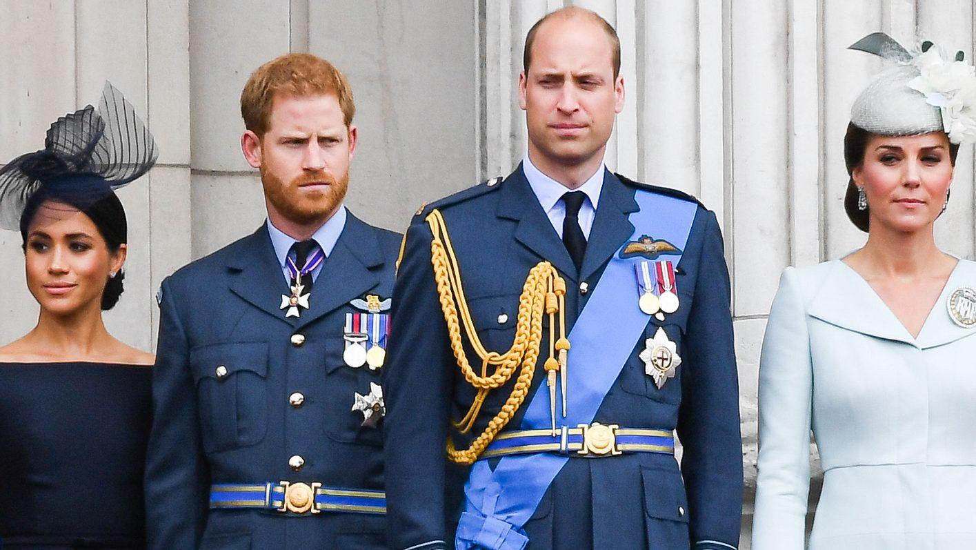 Herzogin Meghan, Prinz Harry, Prinz William, Herzogin Kate