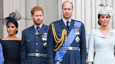 Herzogin Meghan, Prinz Harry, Prinz William, Herzogin Kate - Foto: GettyImages