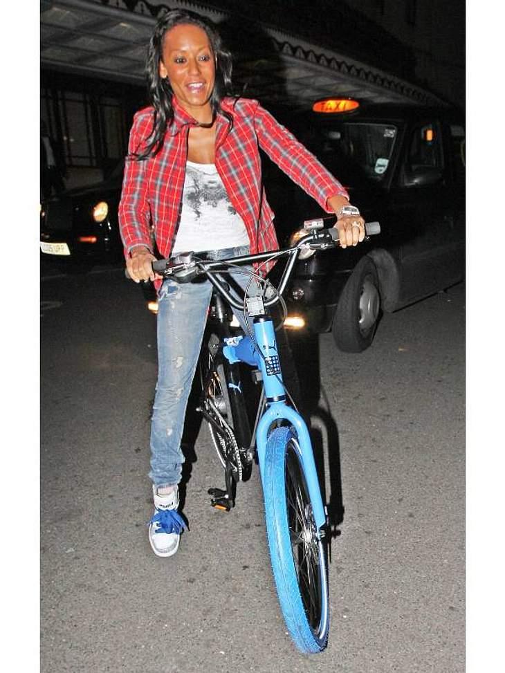 Abgefahren! Stars beim Radeln