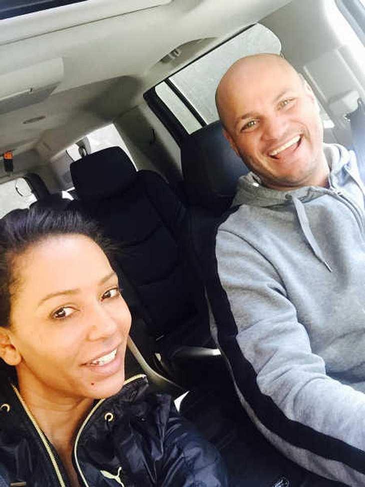 Mel Be beim Ausflug mit Stephen Belafonte.