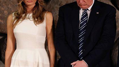 Hat seine Frau Melania Trump längst einen anderen Mann?