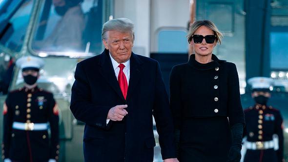 Melania und Donald Trump: Jetzt folgt die Scheidung - Foto: Getty Images