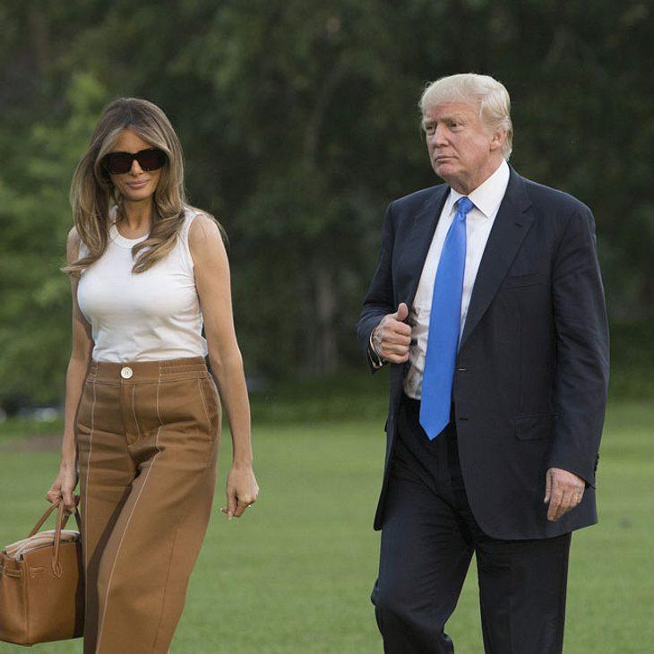 Donald Trump: Melania Trump verlässt ihn!