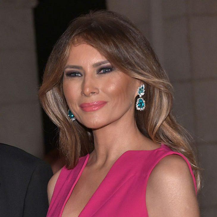 Melania Trump provoziert -