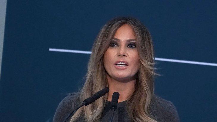 Melania Trump Neue Frisur Sie Ist Jetzt Blond Intouch