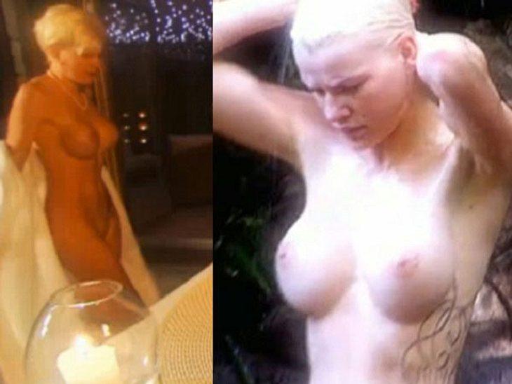Melanies Brüste vorher und nachher