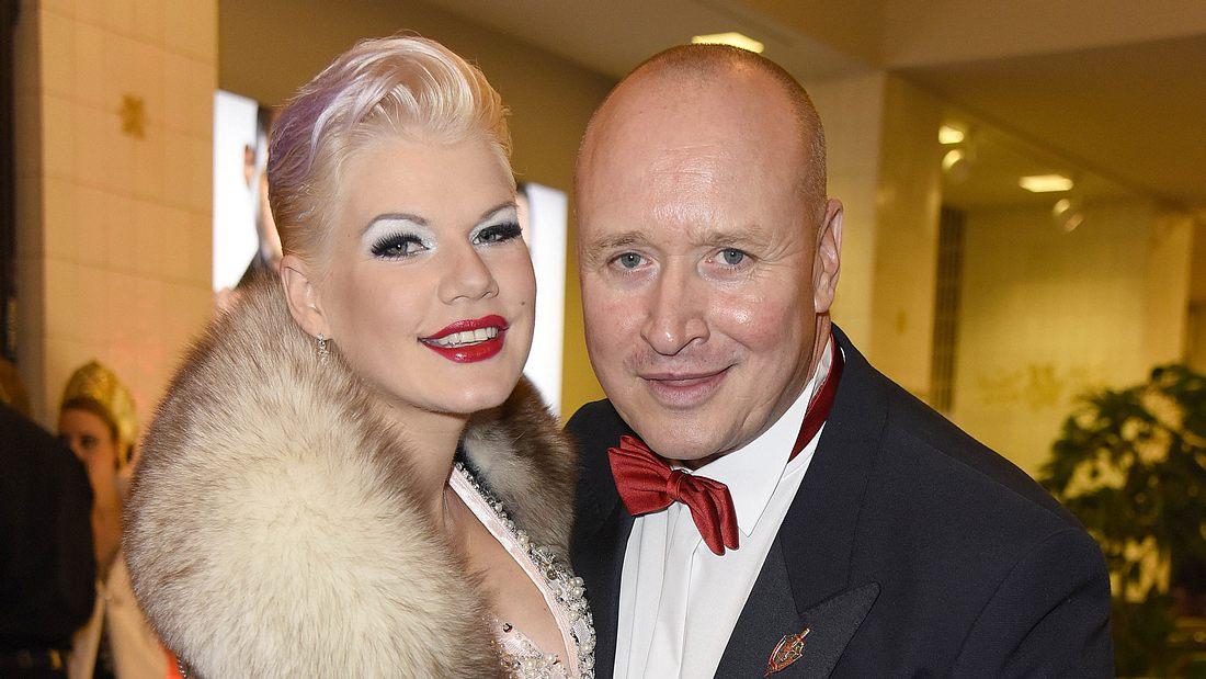 Melanie Müller und Mann Mike
