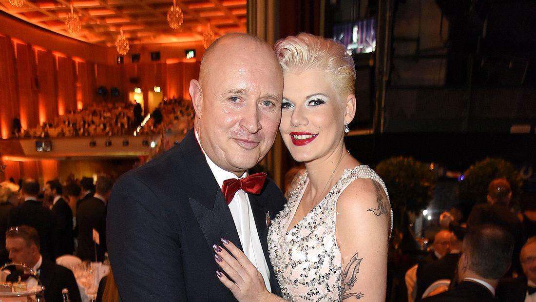 Melanie Müller und Mike