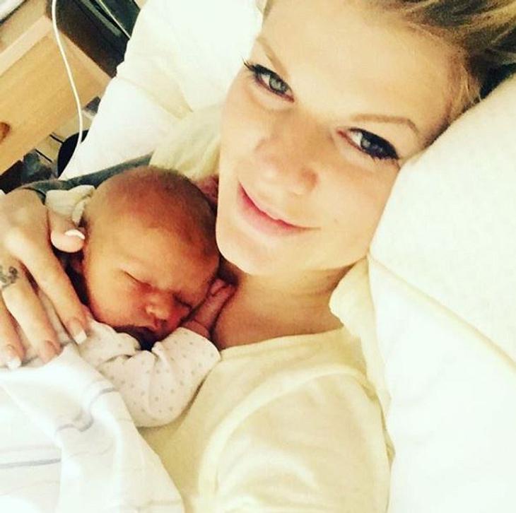 Melanie Müller: OP-Schock kurz nach der Geburt