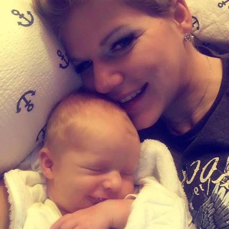 Melanie Müller: Baby-Foto sorgt für Skandal