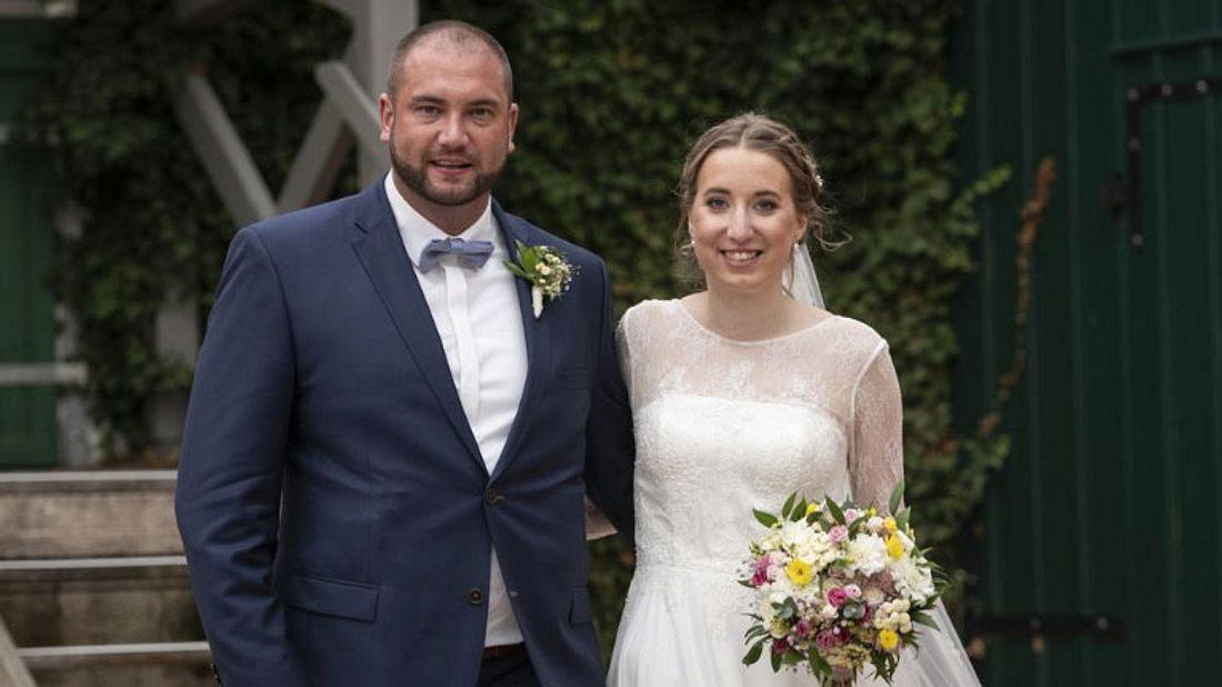 Melissa und Philipp von Hochzeit auf den ersten Blick