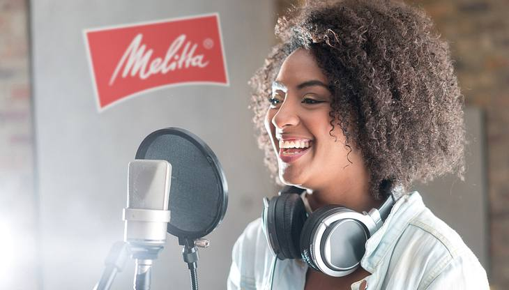Melitta schickt dich einen Tag ins Tonstudio