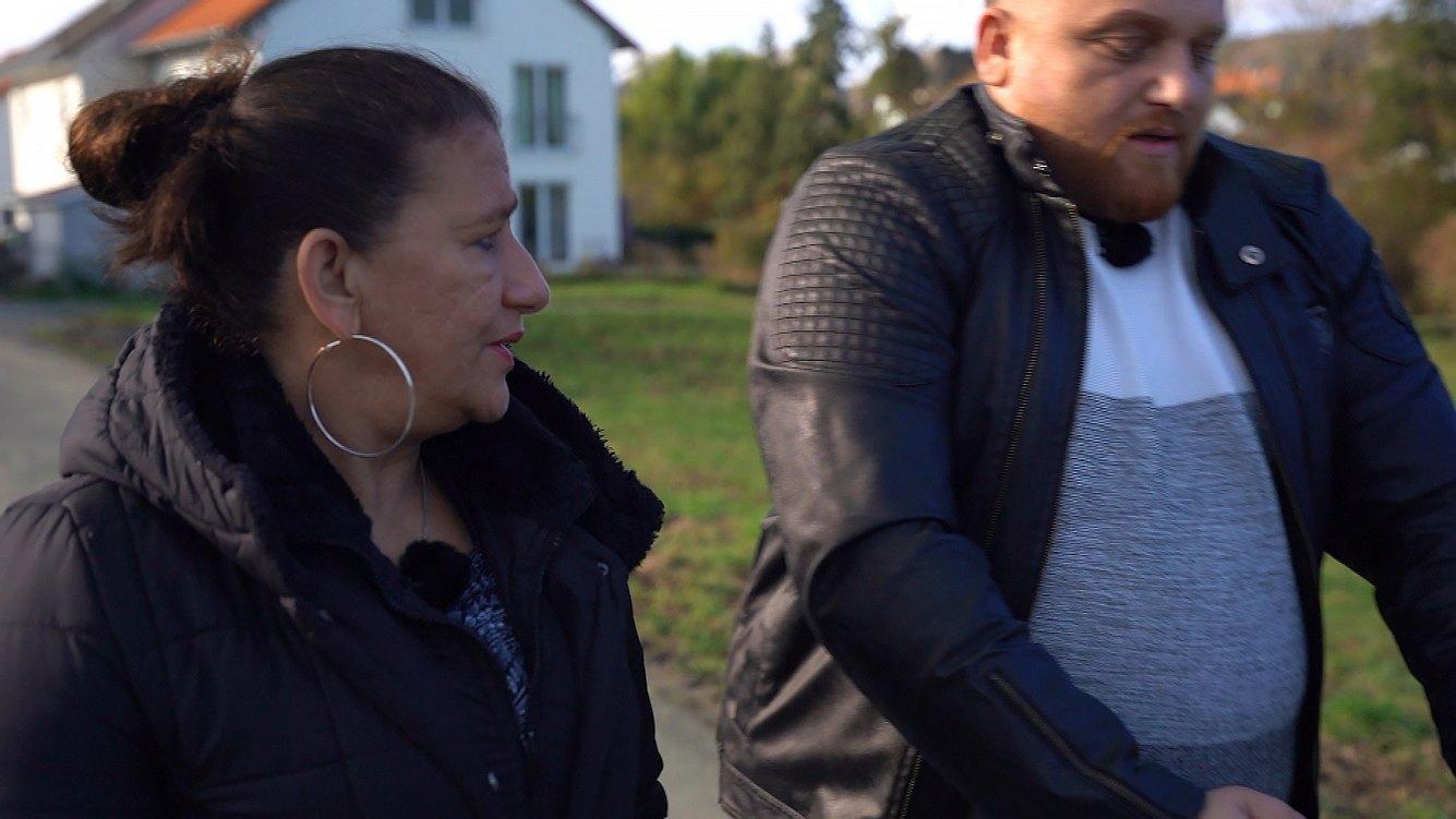 Menowin Fröhlich und Mama Silvia