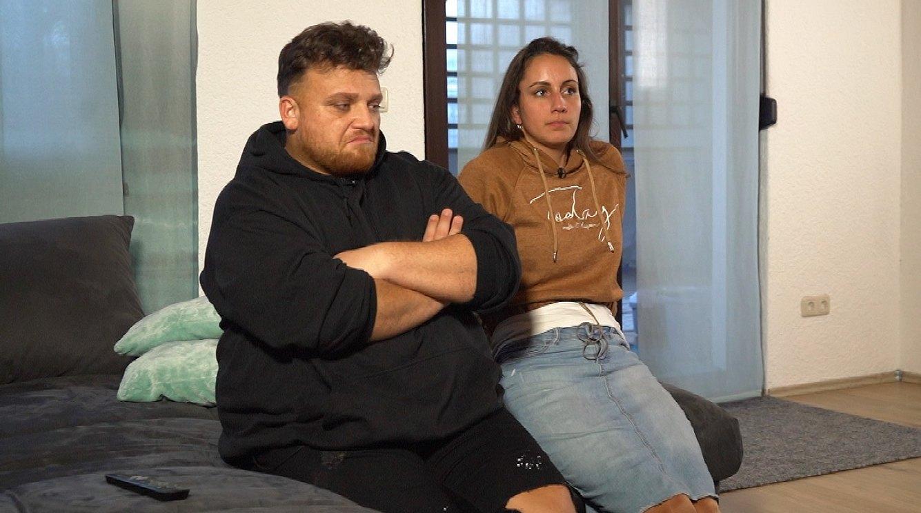 Menowin Fröhlich und Ehefrau Senay