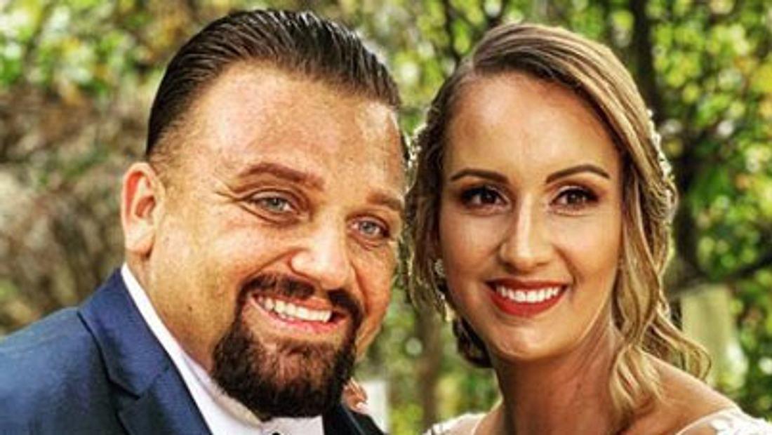 Menowin & Senay: Das erste Hochzeitsfoto ist da