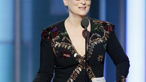 Meryl Streep berührt alle mit ihrer Anti-Donald-Trump-Rede - Foto: getty