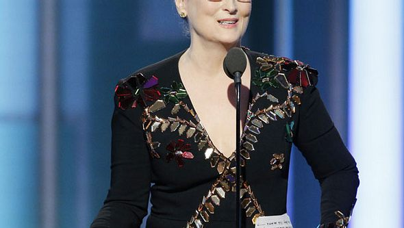 Meryl Streep berührt alle mit ihrer Anti-Donald-Trump-Rede