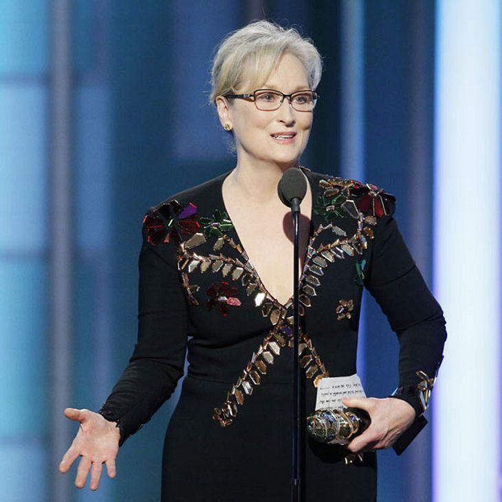 Meryl Streep - Emotionale Rede bei den Goldens Globes