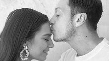 Mesut Özil und Amine Gülse - Foto: Instagram/ m10_official