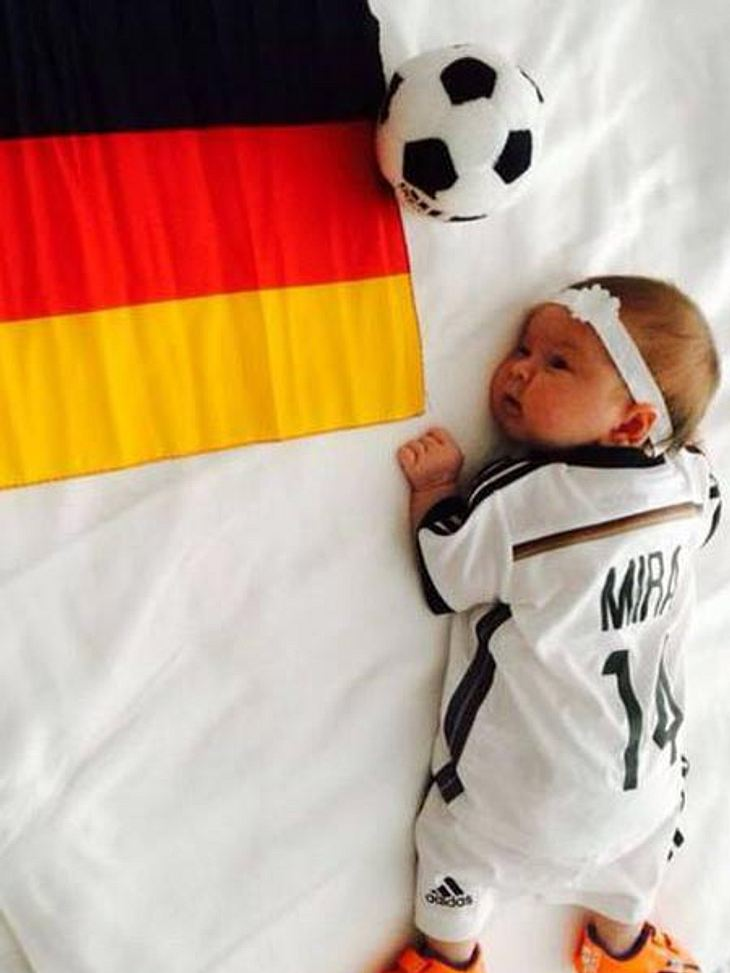 Mesut Özil zeigt seine Nichte Mira