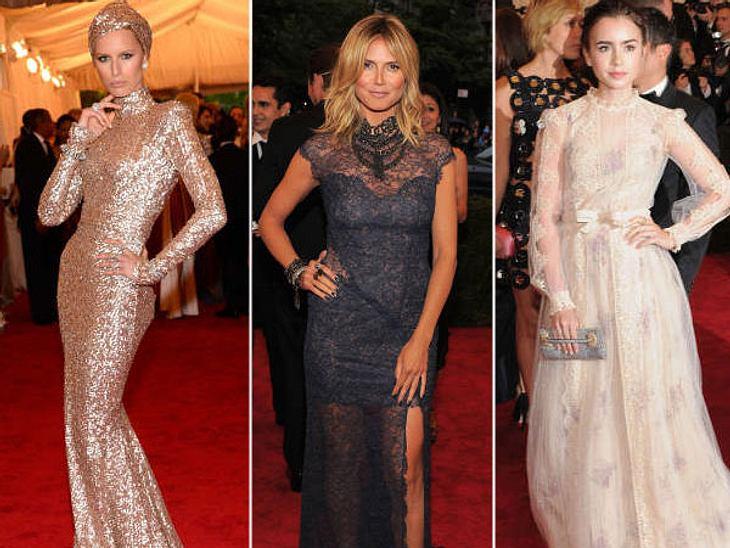 Met-Gala 2012: Die spektakulärsten Kleider des Abends