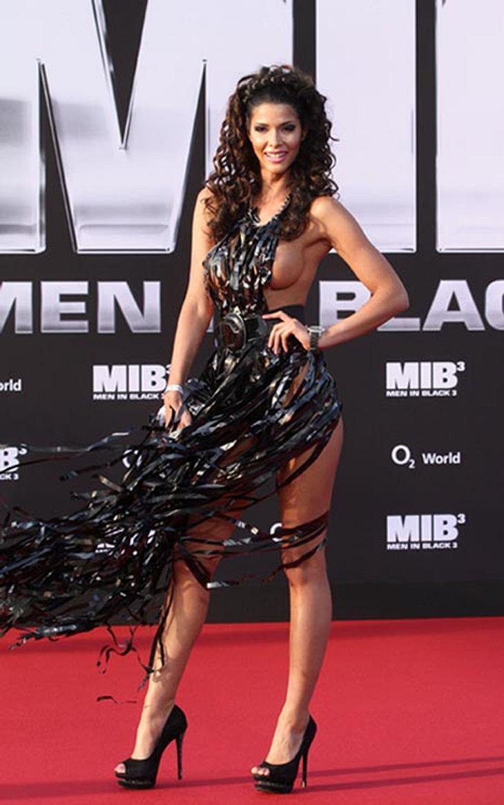 """Mit diesem """"Kleid"""" sorgte das Nackt-Model nicht nur in Deutschland für Furore."""