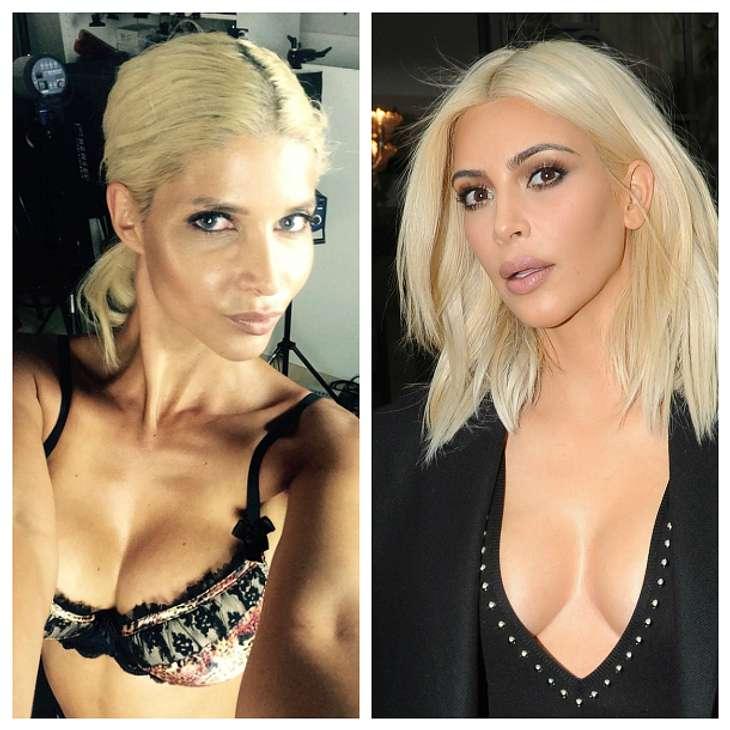 Micaela Schäfer wird zu Kim Kardashian