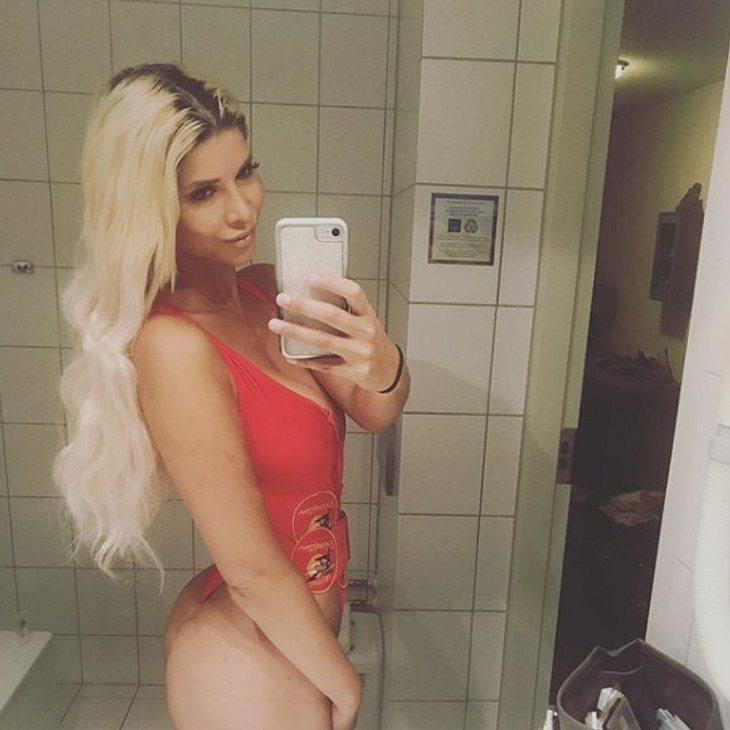 Micaela Schäfer hat eine neue Haarfarbe