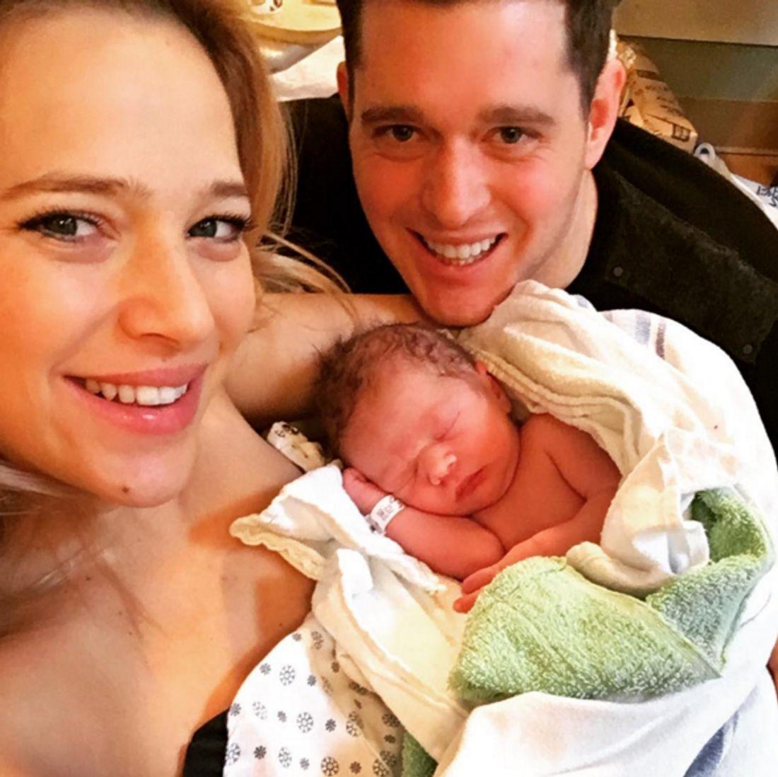 Michael Bublé ist wieder Vater geworden