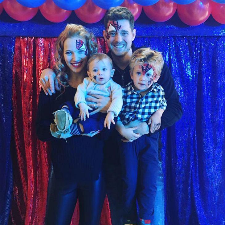 Michael Bublés bangt um seinen Sohn