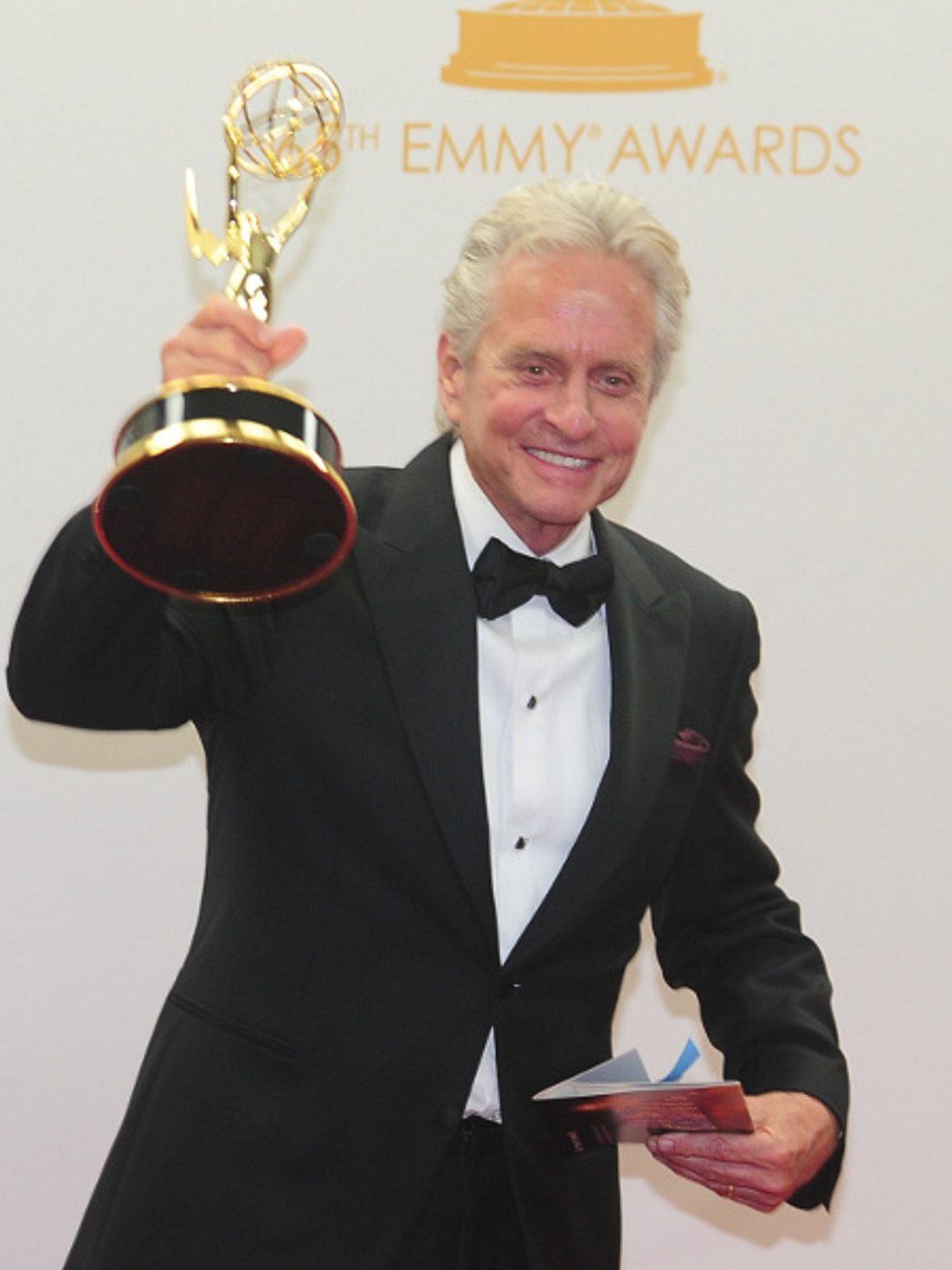 Michael Douglas freute sich über den Emmy.